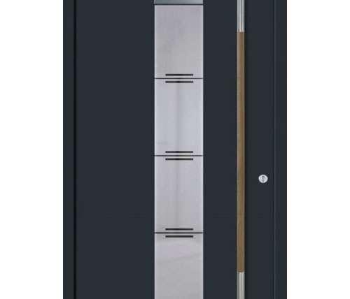 Aluminium-Holz-Türen